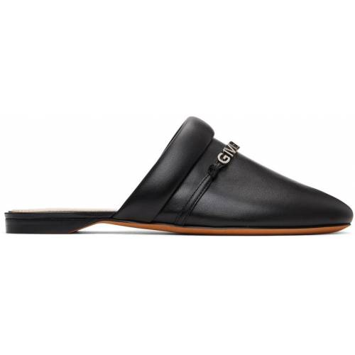Givenchy Black Elba Slippers 37