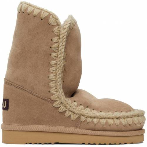 Mou Brown 24 Mid-Calf Boots 39
