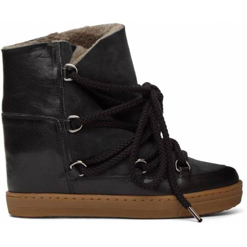 Isabel Marant Black Nowles Ankle Boots 36