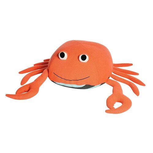 DEPOT Sitzpouf Krabbe ca.56x37cm, koralle