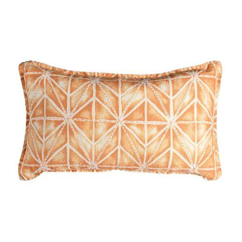 DEPOT Kissen Batik, B:30cm x L:50cm, lachs