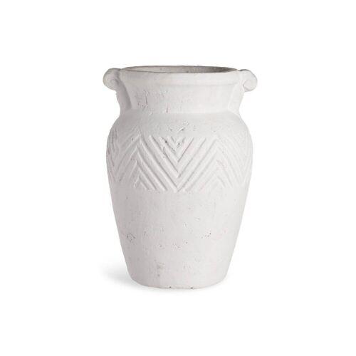 DEPOT Vase Krug ca.D20xH26,5cm, weiss