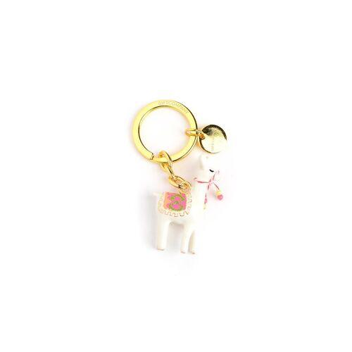 DEPOT Schlüsselanhänger Alpaka, gold