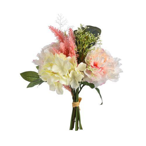 DEPOT Blumenstrauß Romantic ca.40cm, rosa
