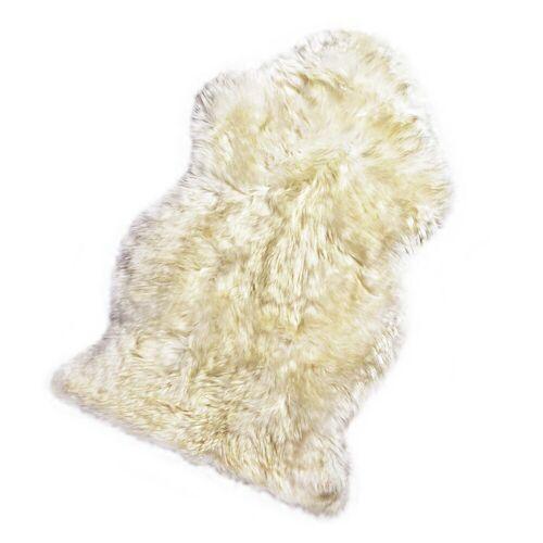 DEPOT Teppich Schaffell, L:85-89cm, weiß