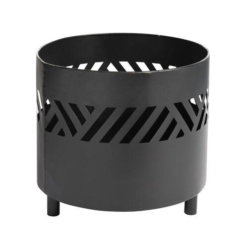 DEPOT Feuerschale ca. D35xH30,5cm, schwarz