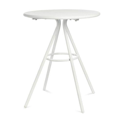 DEPOT Outdoor-Esstisch, rund, D:60cm x H:71cm, weiß