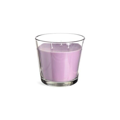DEPOT Kerze im Glas D13,5xH21cm, flieder