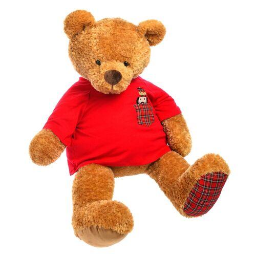 DEPOT Stofftier Teddy, L:110cm, braun