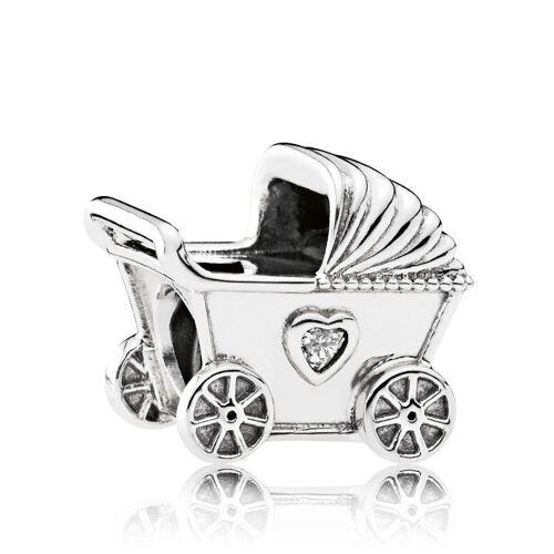 Pandora Charm -Kinderwagen- Pandora Weiß 41950/50X