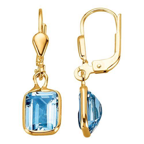KLiNGEL Ohrringe mit Blautopasen KLiNGEL Blau 80571/30X