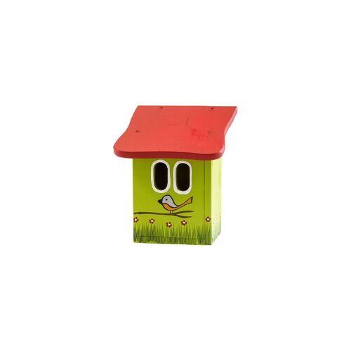 Vogelvilla Nistkasten für Rotschwänzchen aus Holz, Nisthaus