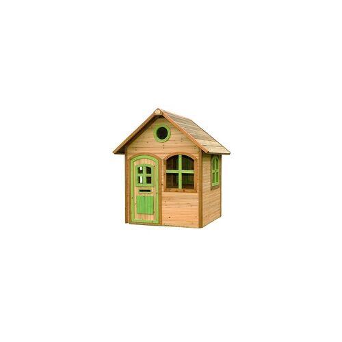Axi Spielhaus Julia, Holz, Gartenhaus braun/grün