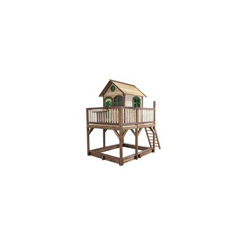 Axi Spielhaus Liam mit Rutsche, Veranda, Sandkasten