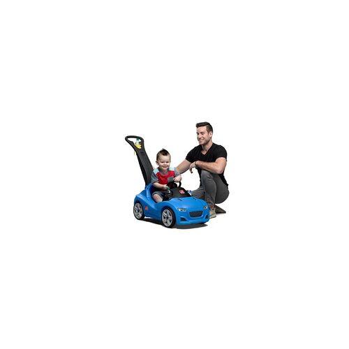 Step2 Kinderfahrzeug mit Schiebestange, blau