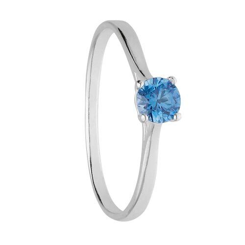SIX Ring aus 925er Silber mit Kristall  Swarovski® Kristalle,