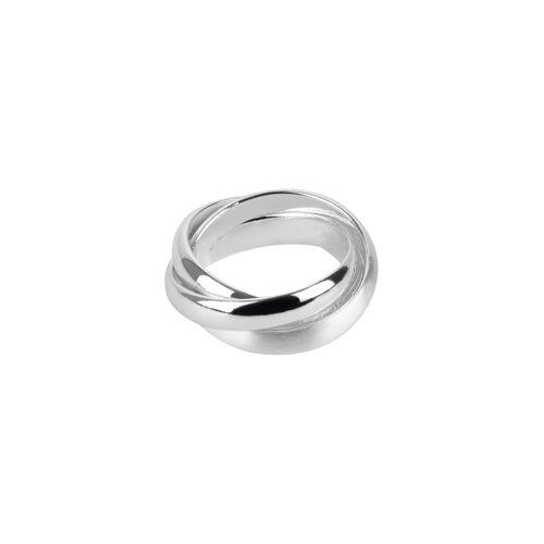TOSH Ring in geflochtener Optik