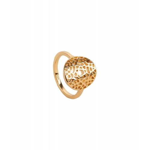 TOSH Ring mit strukturierter Metallplatte