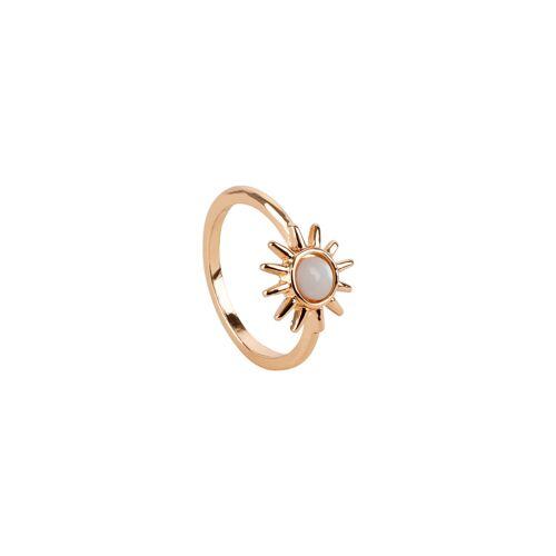 TOSH Ring mit Halbedelstein Ringe Metall, Halbedelsteine