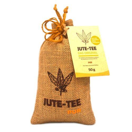Jutevital Basischer Tee ohne Koffein   Jute-Tee Pur im Jutesäckchen