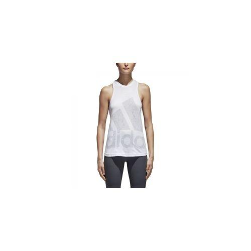Adidas Climalite Logo Tanktop Damen M White