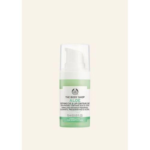 The Body Shop Aloe Beruhigende Augen- & Lippenkonturpflege 15 ML