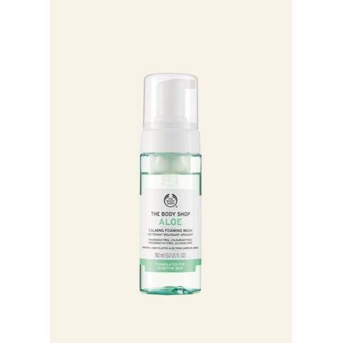 The Body Shop Aloe Vera Milder Reinigungsschaum 150 ML