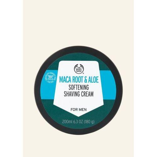 The Body Shop Maca Root & Aloe Glättende Rasiercreme Für Männer 200 ML