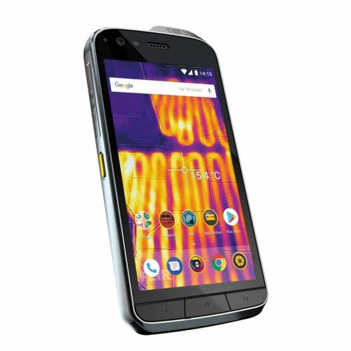 CAT S61 Dual-SIM Outdoor Android Smartphone mit Wärmebildkamera