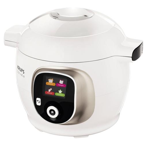 Krups CZ7101 Cook4Me+ Multikocher  6l, 1200 W, weiß/grau
