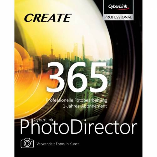 Cyberlink PhotoDirector 365 12Mo ESD Software Bildbearbeitung