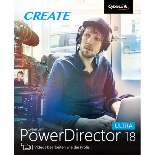 Cyberlink PowerDirector 19 Ultra ESD DE Software für Videobearbeitung