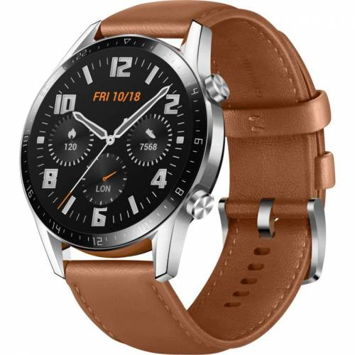 Huawei *Huawei Watch GT 2 Classic Smartwatch Pebble Brown