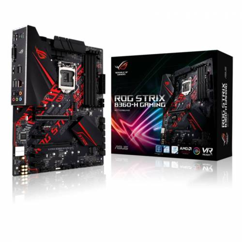 ASUS ROG STRIX B360-H GAMING ATX Mainboard 1151 DVI/HDMI/M.2/USB3.1