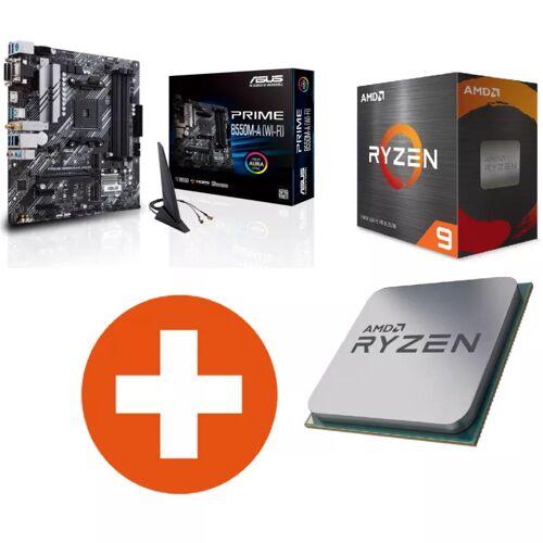 ASUS Prime B550M-A WIFI mATX Mainboard Sockel AM4 + AMD Ryzen 9 5900X CPU