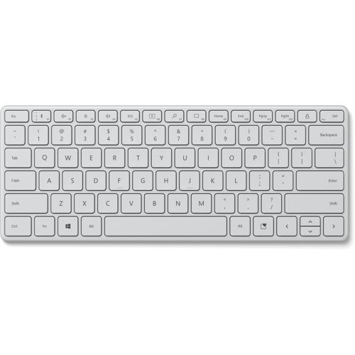 Microsoft Designer Compact Keyboard Grau 21Y-00036