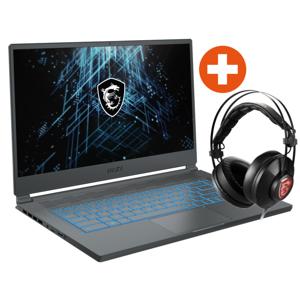 """MSI Stealth 15M i7-11375H 16GB/512GB SSD 15"""" FHD RTX3060 Win10Pro + Headset"""