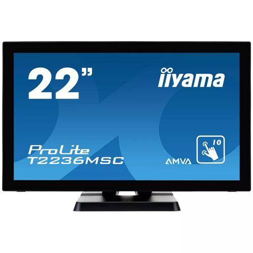 "iiyama ProLite T2236MSC-B2 55cm (22"") 10-Punkt Multitouch-Monitor"