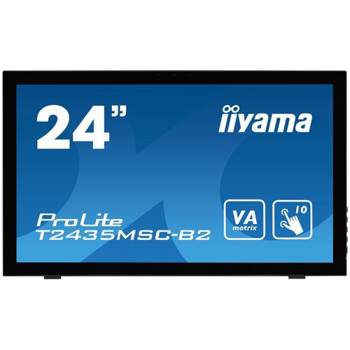 "iiyama ProLite T2435MSC-B2 59.8cm (23.6"") 10-Punkt Multitouch-Monitor"