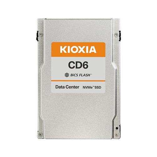 KIOXIA Europe GmbH Kioxia CD6-V KCD61VUL3T20 SSD 3200GB NVMe 1.4 15mm