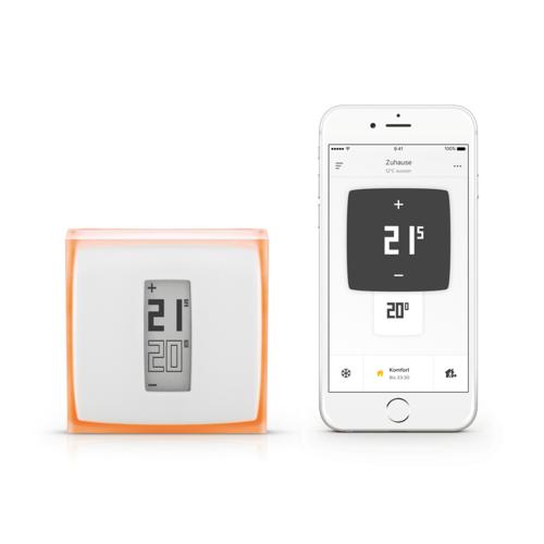 Netatmo Smartes Zentrales Thermostat