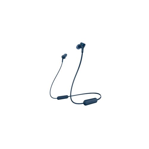 Sony WI-XB400 In-Ear Bluetooth-Kopfhörer Extra Bass magnetisch blau