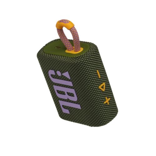 JBL GO 3 grün Ultraportabler Bluetooth Lautsprecher IPX67