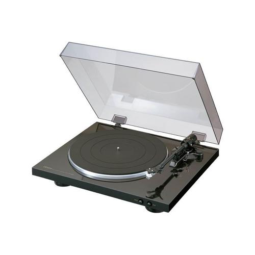Denon DP-300F Vollautomatischer Plattenspieler, schwarz