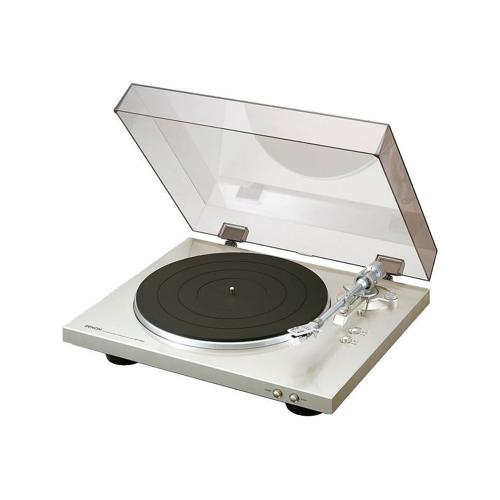 Denon DP-300F Vollautomatischer Plattenspieler, premium silber