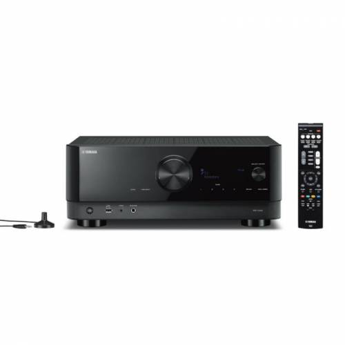 Yamaha MusicCast RX-V4A 5.1 AV-Receiver 4K Bluetooth DLNA AirPlay2 WiFi schwarz