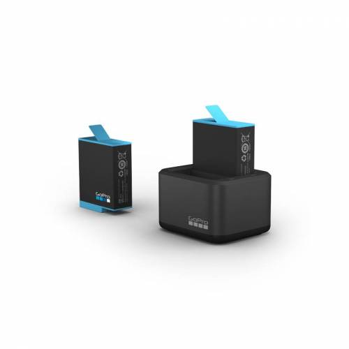GoPro Dualladegerät + Akku (ADDBD-001-EU)