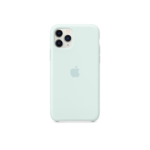 Apple Original iPhone 11 Pro Silikon Case Meerschaum