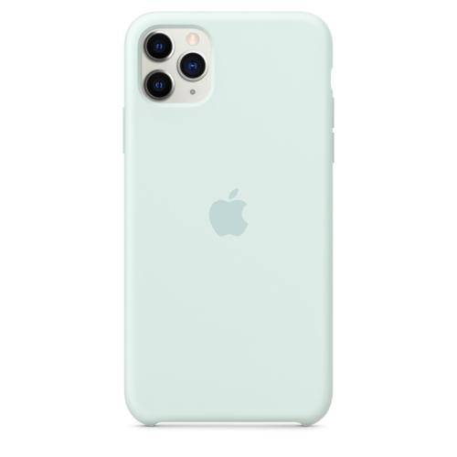 Apple Original iPhone 11 Pro Max Silikon Case Meerschaum