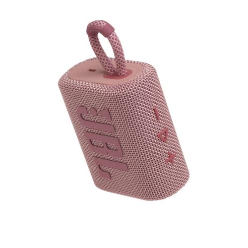 JBL GO 3 pink Ultraportabler Bluetooth Lautsprecher IPX67